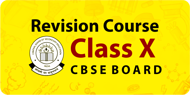 Revision Course class 10th